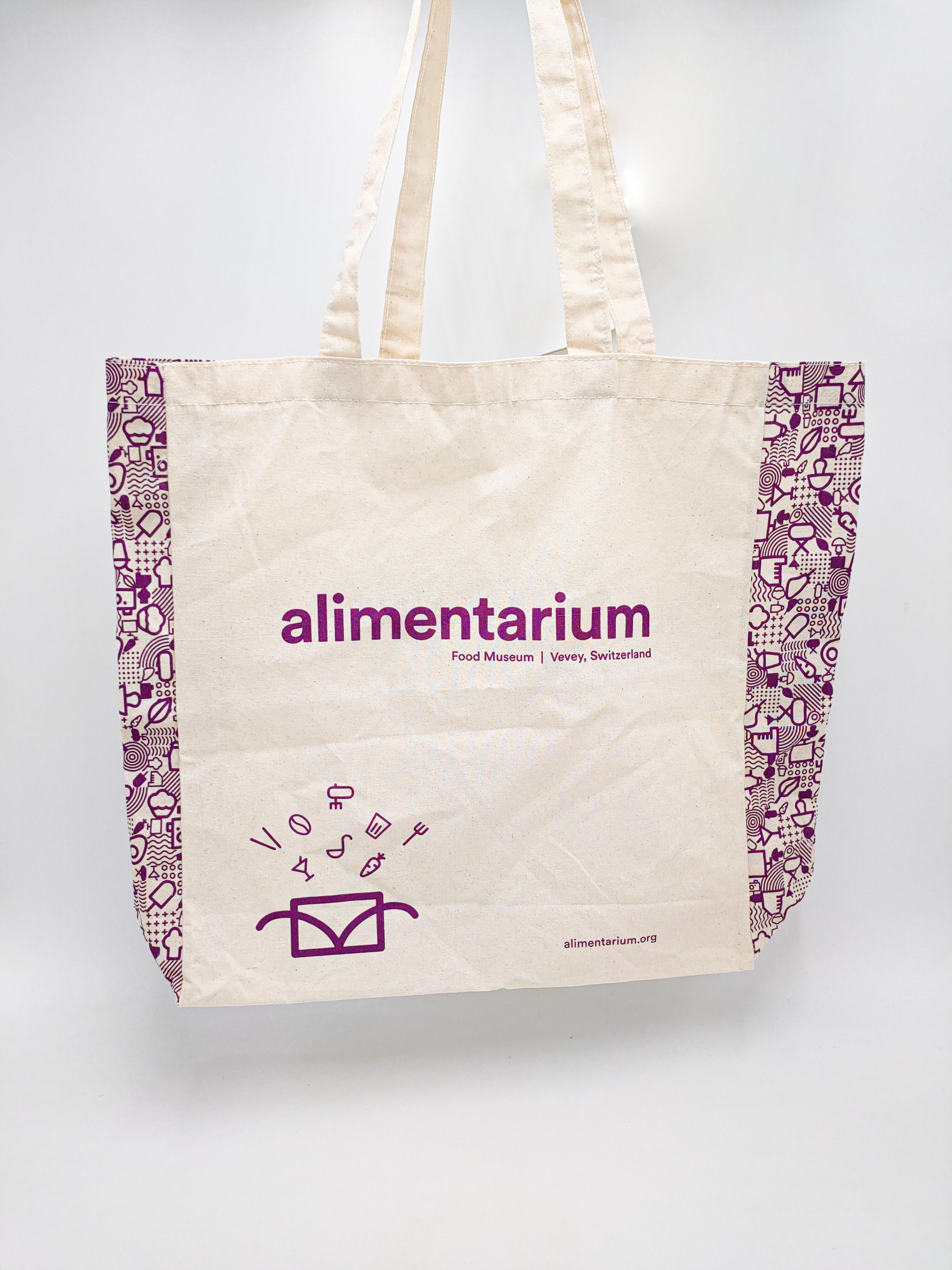 Tote bag Alimentarium Vevey - Produits verts