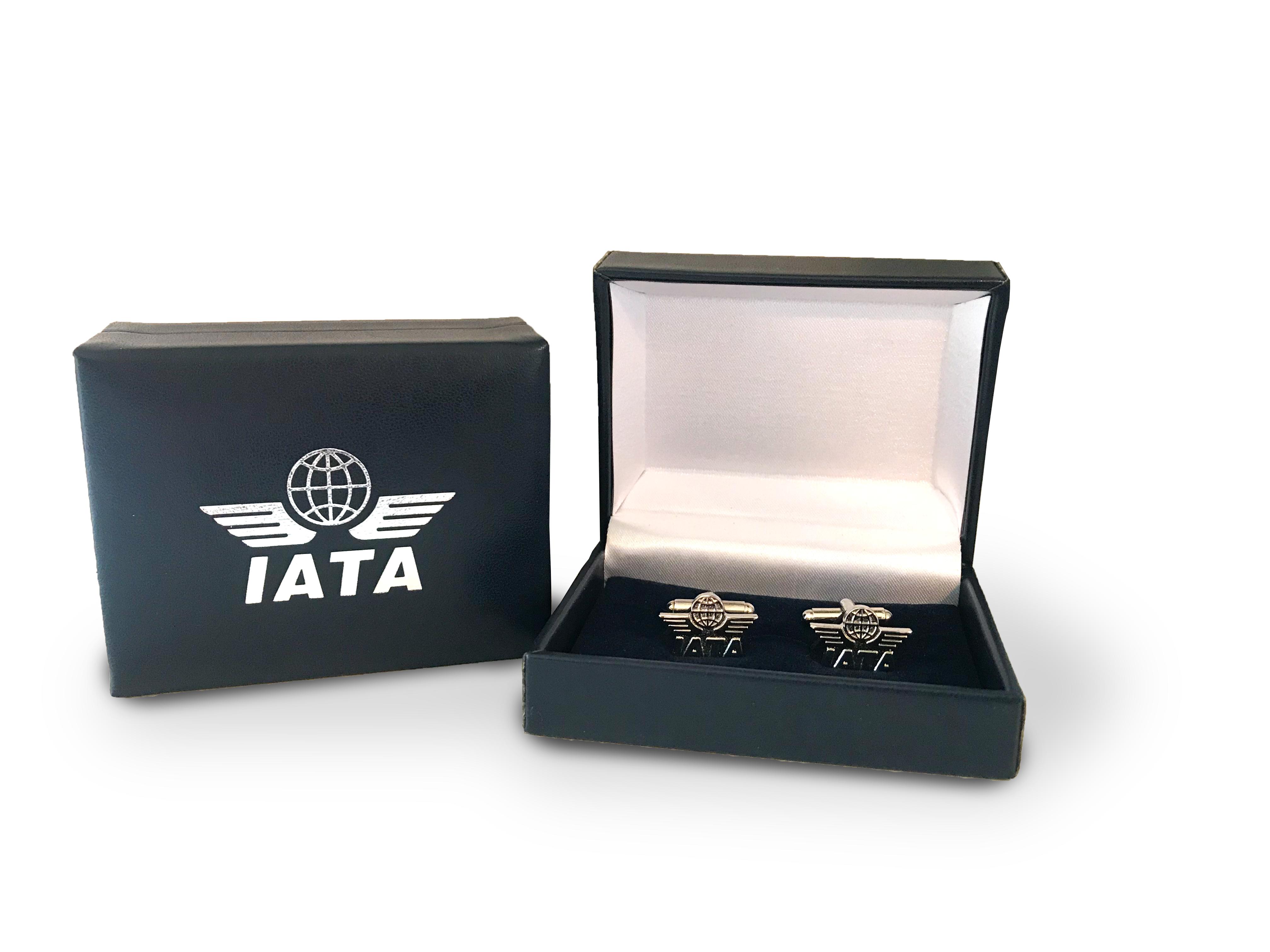 Bouton de manchettes IATA - Textile