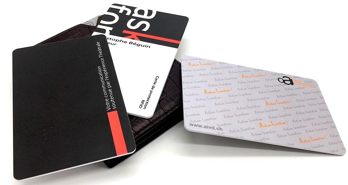 Carte RFID - Ask for, AI