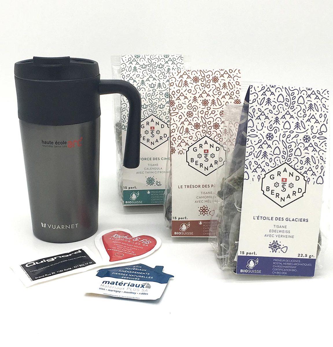 Sachet de thé personnalisé - Unilabs