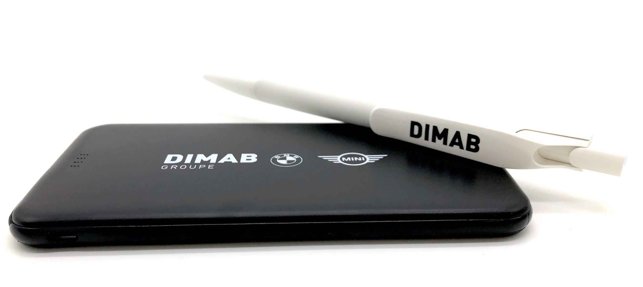 Powerbank et Stylo DIMAB - Technologie / Informatique